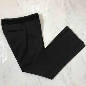 EXPRESS Dark Gray Editor Work Pants 2S